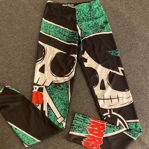 NEW no tags Cartoon graphic high waisted legging